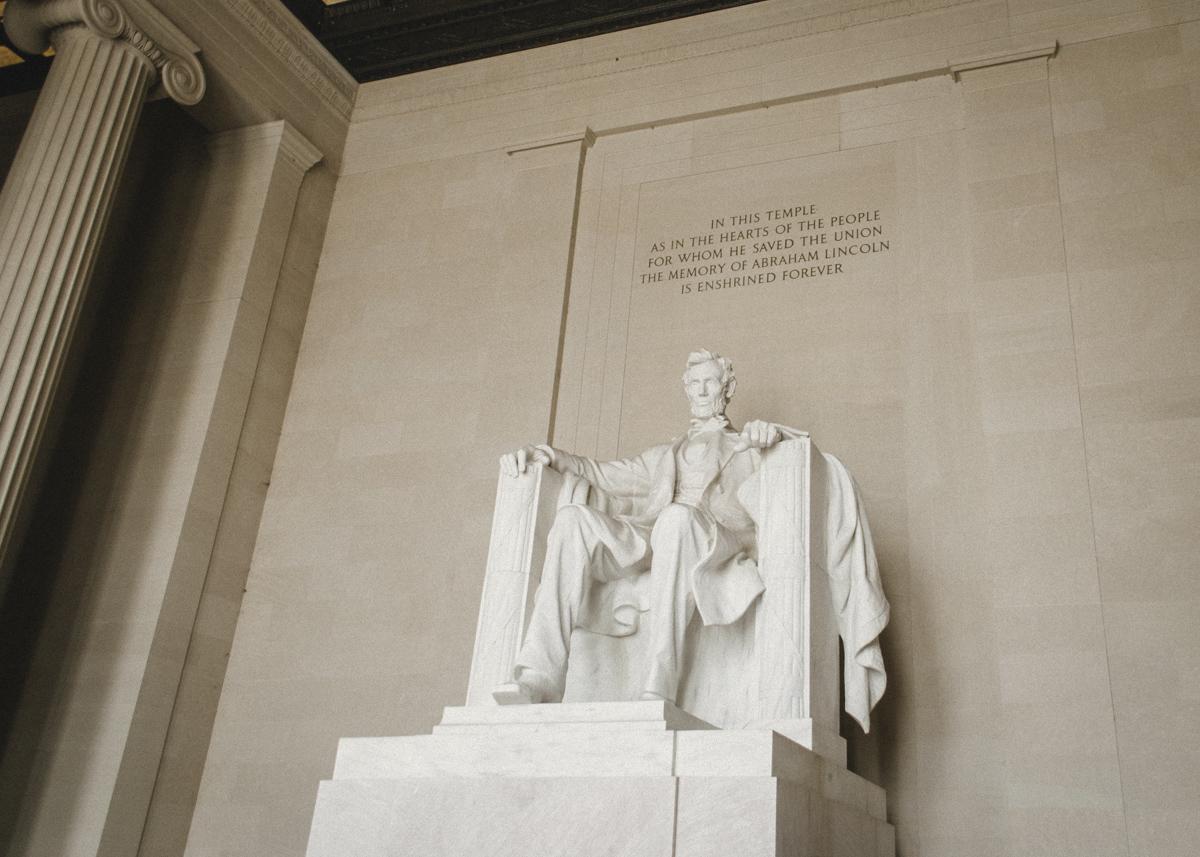 Monumento a Abraham Lincoln en Washington DC