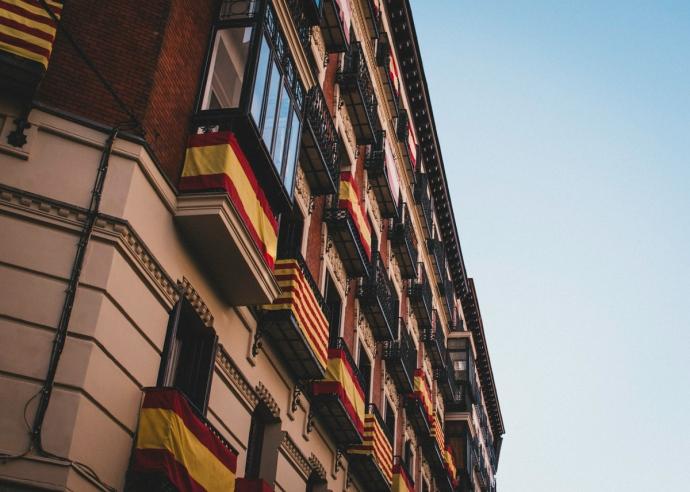 Fachada de Apartamentos en Madrid